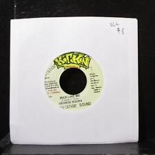 """George Nooks - Man Like Me 7"""" VG+ Vinyl 45 Kickin Jamaica 2002"""