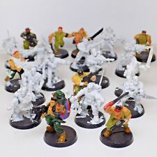 Imperial Guard CATACHAN 20X INFANTRY TROOPS Colonel Captain Veteran Sergeant OPP
