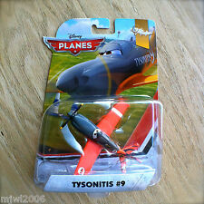 Disney Planes TYSONITIS #9 Nebraska Trials Theme Wings AroundGlobe diecast DLL04