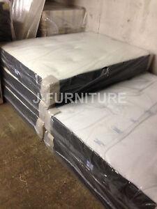 "2ft6 Single Mattress.Real Luxury Orthopaedic and Memory Foam.10"" Deep! RRP £220"