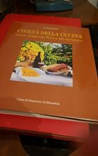 """Ravazzini Giacomo """"Civiltà della cucina"""", Artioli, 1996"""