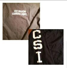 Rare, 2002, CSI Season 3 Camera Dept, Production long sleeve shirt size XL