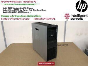 HP Z600 Workstation, 1x Xeon E5530 2.40GHz, 8GB DDR3 RAM  -  Barebone PC