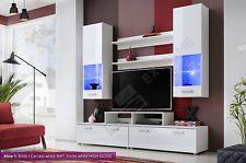 Modern Cabinet Wall Unit Living Room TV Set Cupboard Led Display Furniture Stand