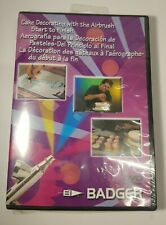 Badger Air-Brush Co. Cake Decorating with Airbrush, DVD New and Sealed