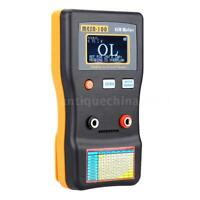 MESR-100 LCD Professional ESR Capacitance Ohm Meter 100KHz In Circuit Tester