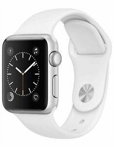 Apple Watch Series 1 38mm Smartwatch (Silver Aluminum Case / White Sport Band)