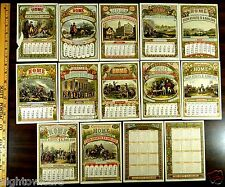 Advertising Calendars Centennial Home Insurance Co. 1876 Philadelphia Exposition