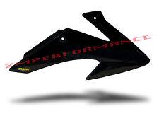 NEW HONDA CRF 150F 08 - 13 BLACK PLASTIC MOTORCYCLE RADIATOR AIR SCOOPS CRF150