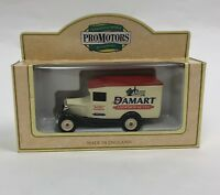 DAMART THERMOLACTYL Lledo Promotors diecast Metal  Bingley Van Truck model