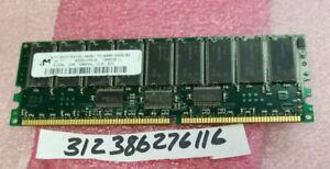512MB DDR-200MHz PC1600 ECC Registered CL2 184-Pin DIMM 2.5V Memory Module
