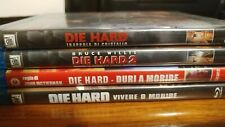 DIE HARD COLLECTION - 4 BLU-RAY DISC - PAL - BRUCE WILLIS COFANETTO LOTTO