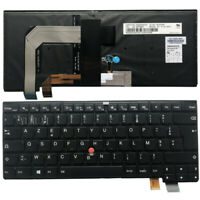 New FR for Lenovo Thinkpad T460S T470S Backlit Keyboard French clavier 00PA463