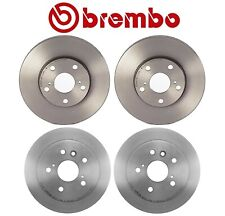 Brembo Front and Rear UV Coated Brake Disc Rotors Kit For Toyota Camry 2001-2006