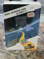 Vintage MPC Serial Interface Card for Apple II Computers - New Old Stock, Sealed