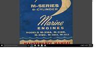 Chrysler marine inboard M 318 383 413 boat motor service repair manual