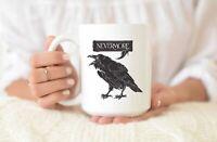 Nevermore Raven 11oz Mug | Edgar Allan Poe Inspired