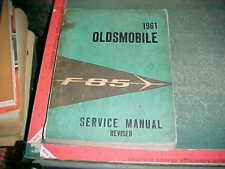1961 OLDSMOBILE  F-85 BODY &  CHASSIS REVISED SERVICE MANUAL OLDS good only
