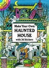Dover Little Activity Books Stickers: Make Your Own Haunted House with 36 Stickers by Cathy Beylon (1995, Paperback)