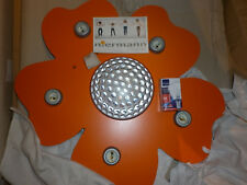 Niermann Standby LED Ceiling Lamp Automatic Colours Happy Flower, Orange *NEW *