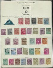 Cape of Good Hope- collection of 35 stamps from 1853-1904 - all different- 11045