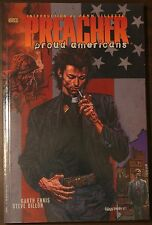 Steve Dillon Signed Preacher Proud American TPB 1st Autographed Reprinting 18-26