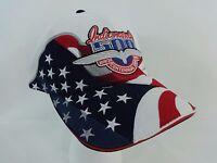 2009 Indianapolis 500 USA Flag Centennial ERA Event Collector Hat Cap