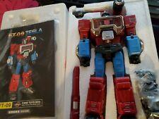 Fanstoys FT-09 Tesla Transformers Masterpiece Perceptor USA Seller modified face