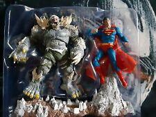 McFarlane DC Multiverse 2 Pack lot Custom Doomsday vs Superman devastator