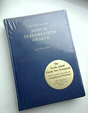 GREEK New Testament Nestle-Aland with dictionary NEW Novum Testamentum GRAECE