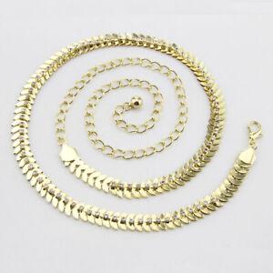 Women Waist Chain Belt Gold Diamond Charm Waistband Fashion for Ladies Dresses
