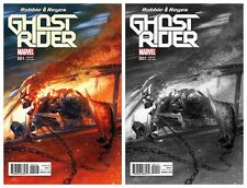 Now Ghost Rider #1 GABRIEL DELL'OTTO COLOUR B&W VARIANT SET Marvel 1st Print NM