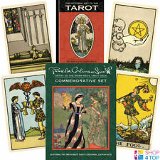 THE PAMELA COLMAN SMITH COMMEMORATIVE SET CENTENNIAL TAROT DECK US GAMES NEU
