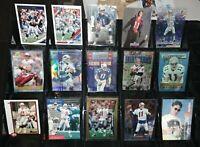 Drew Bledsoe 15 card rookie RC Finest Chrome serial #d lot New England Patriots