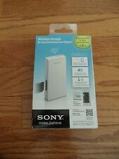 Sony White Portable Wireless Server WG-C10/NWC1 (USB cable & holder included)
