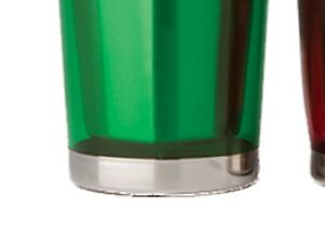 Double Wall Stainless Steel Cocktail Shaker, 16 oz.