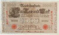1000 MARK Reichsbanknote 21 avril 1910 ALLEMAGNE P.044b - NEUF