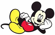 """8""""X6"""" layer paper Die Cut Out - MICKEY Mouse birthday party sign banner prop"""