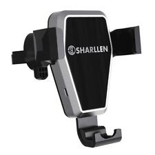 Sharllen 10W Qi Wireless Charger Gravity Car Air Vent Holder iPhone X Samsung