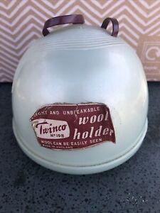 Vintage Twinco Beehive Wool Holder