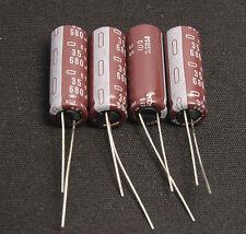 4pcs-- 680uf 35v Radial Electrolytic Capacitors 35v680uf JAPAN'S caps Long Life