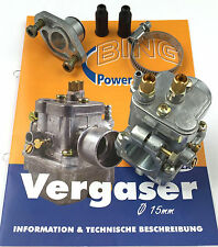 Carburettor BING 17/15/1103 - 60 km/h Variant for Simson S 51 and s 53
