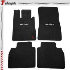 For 98-05 Mercedes Floor Mats S Class Front & Rear Black Nylon Carpets 4pcs Set