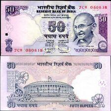 INDIA 50 RUPEES 2011 R INSET P 97  UNC