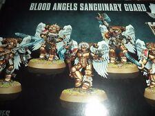 Blood Angels Sanguinary Guard - Warhammer 40k 40,000 Games Workshop Model New!