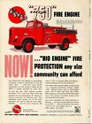 1955 FWD Four Wheel Drive Fire Truck Ad: Special 750 Fire Engine/Pumper -