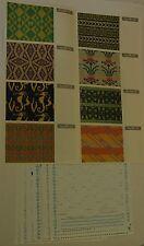 Knitmaster knitting machine Double Jacquard Pattern Set for F-370/270 FR11-20