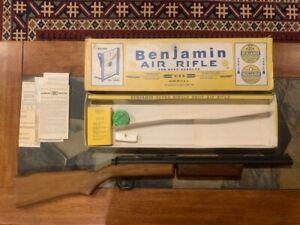 Benjamin Franklin Model 347 .177 cal Pellet Rifle with original box