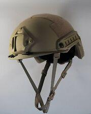 LVL IIIA Ballistic KEVLAR Tan Helmet - Arma-Core AOR MICH - fast shipping!