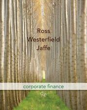 Corporate Finance 9th Edition (McGraw-Hill/Irwin Series in Finance, Insurance an